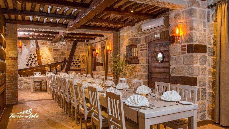 Groups events dubrovnik venues zaton bay tavern