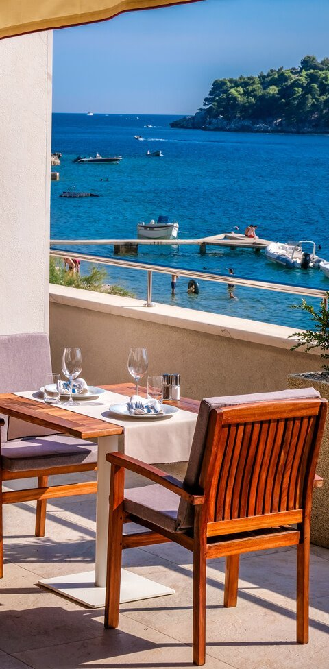Tavern Arka Restaurant Terrace Zaton Dubrovnik Croatia