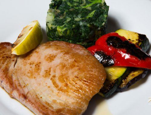 Tuna Fillet Grilled