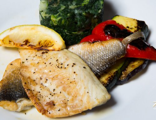 Sea Bass – Grilled Fish Catch of the Day