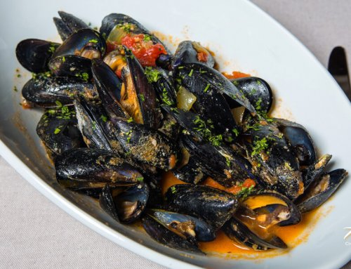 Mussels ala Buzara – White Wine, Parsley & Garlic