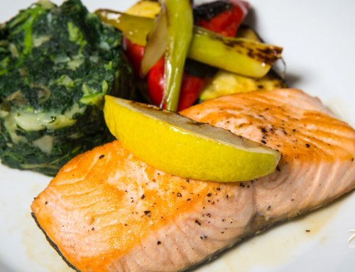Salmon Fillet Grilled