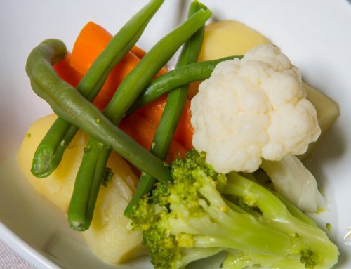 Steam-Cooked Vegetables