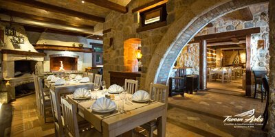 Saturday Christmas Eve Day at Tavern Arka Zaton, Dubrovnik, Croatia